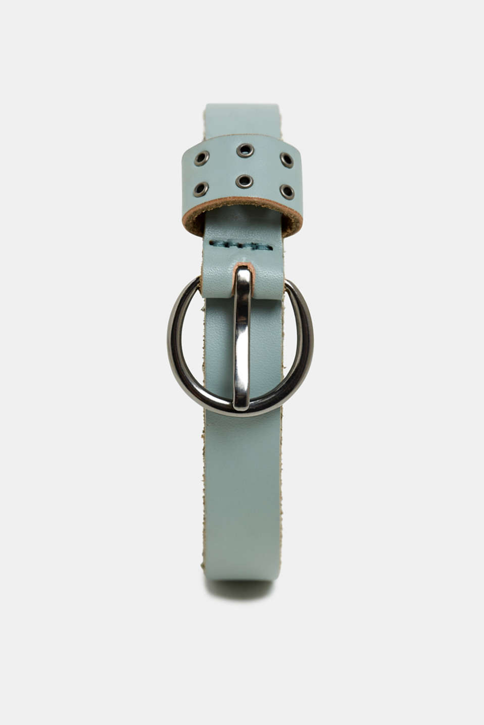 edc - Narrow belt with studs, made of chromium-free leather
