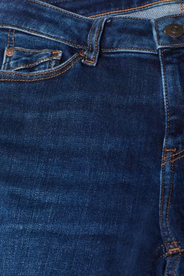 Bootcut style stretch jeans