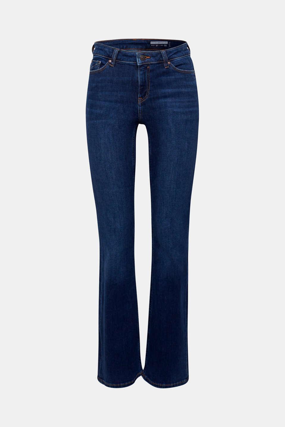 Pants denim, BLUE DARK WASH, detail image number 8