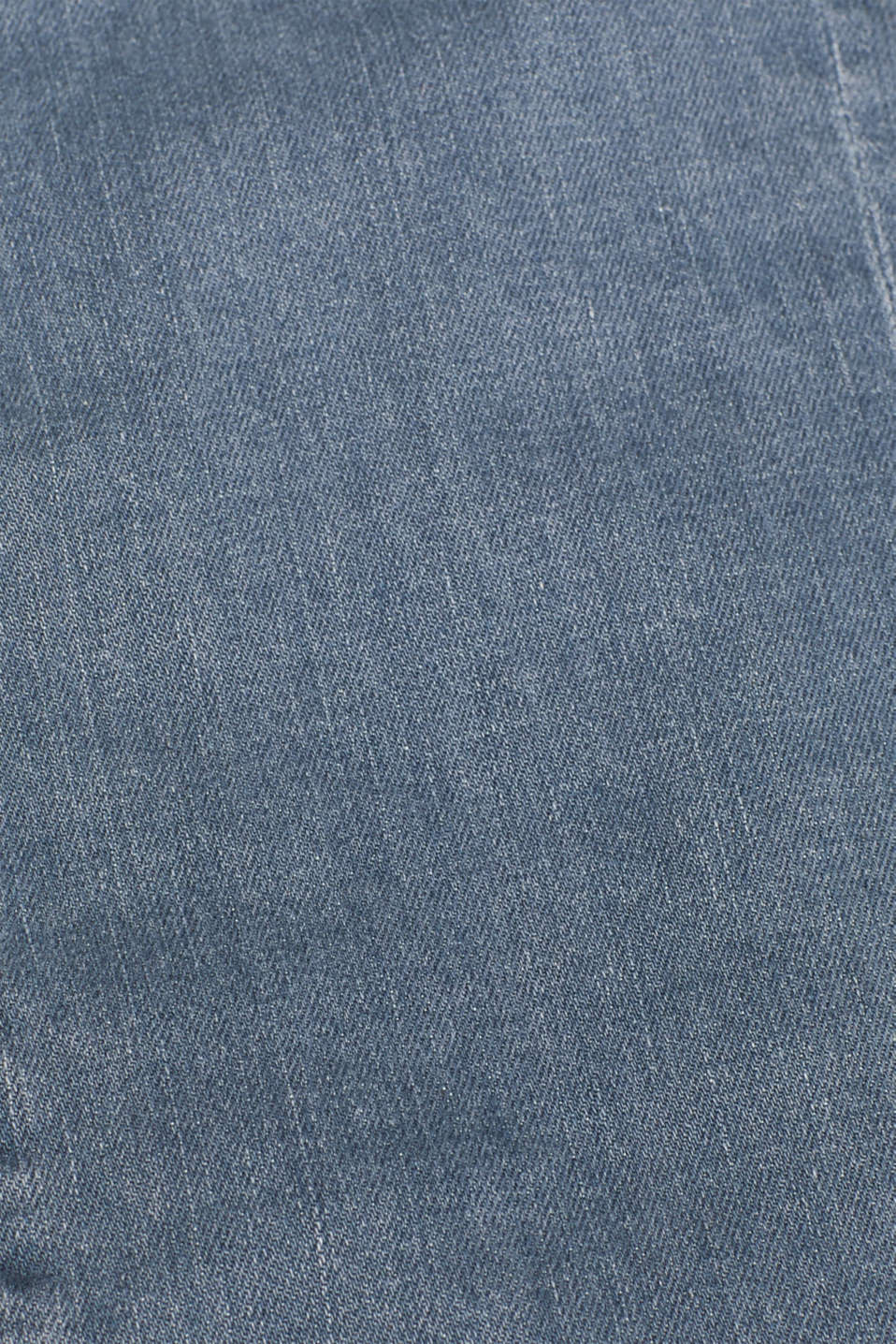 Jeans with a button placket and patch pockets, GREY MEDIUM WASH, detail image number 4