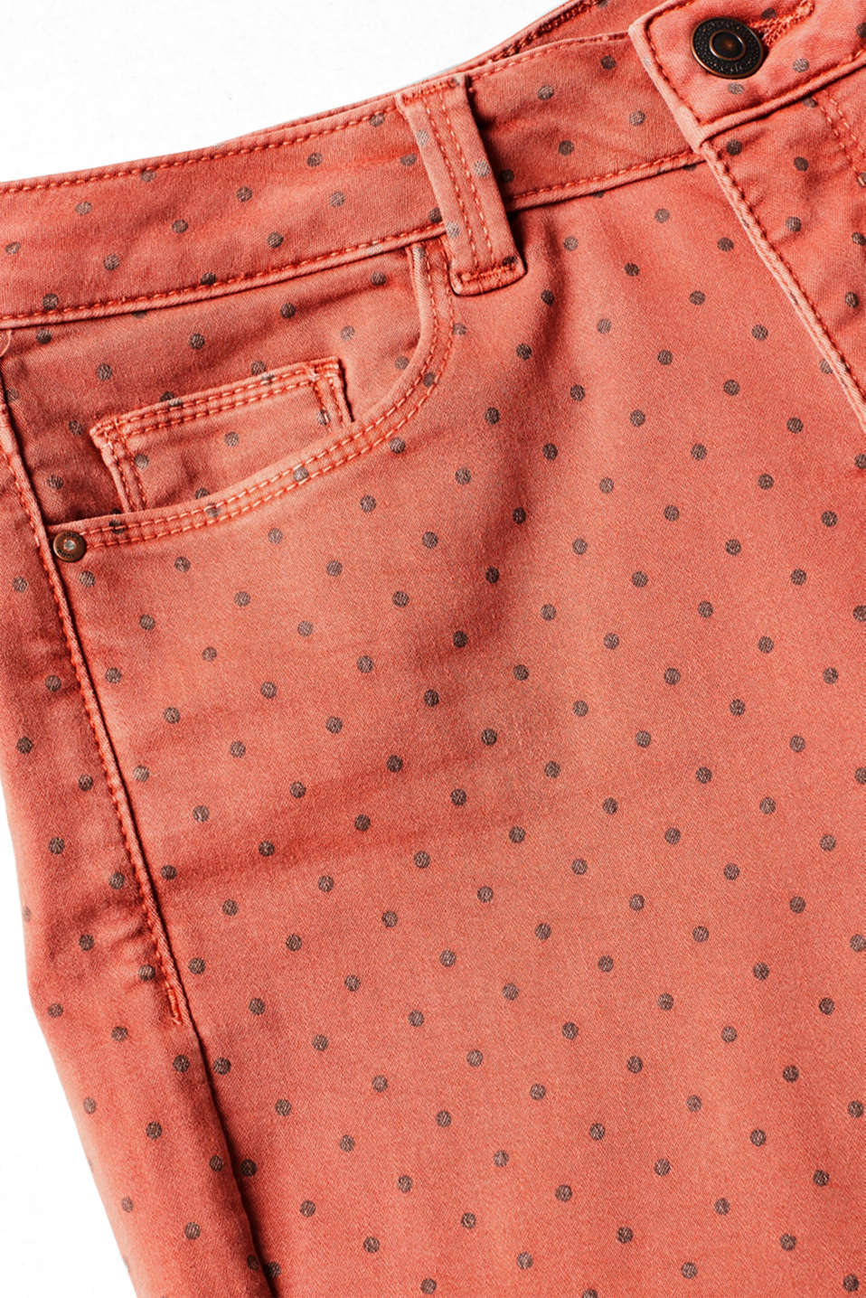 Pants woven, TERRACOTTA, detail image number 3
