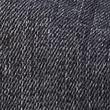 Stretch denim skirt with a zip, BLACK DARK WASH, swatch