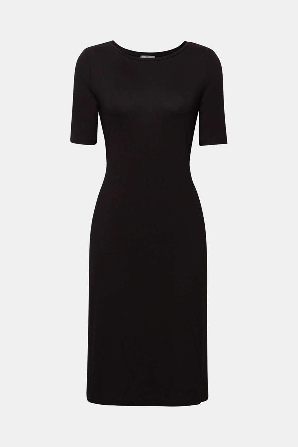 Dresses knitted, BLACK, detail image number 6