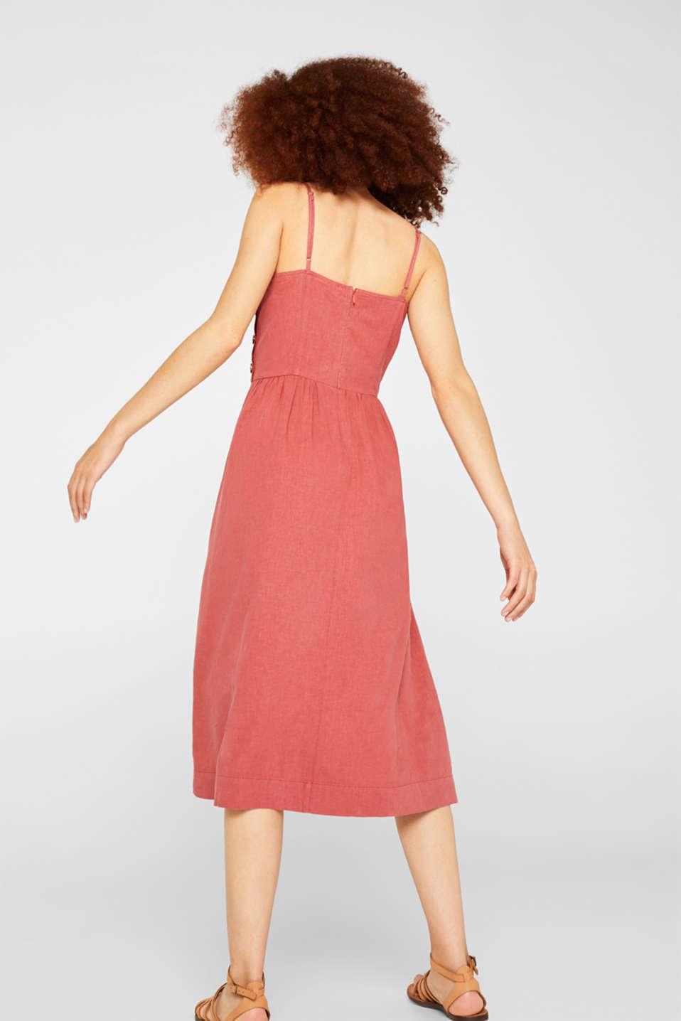 Dresses light woven, TERRACOTTA, detail image number 2