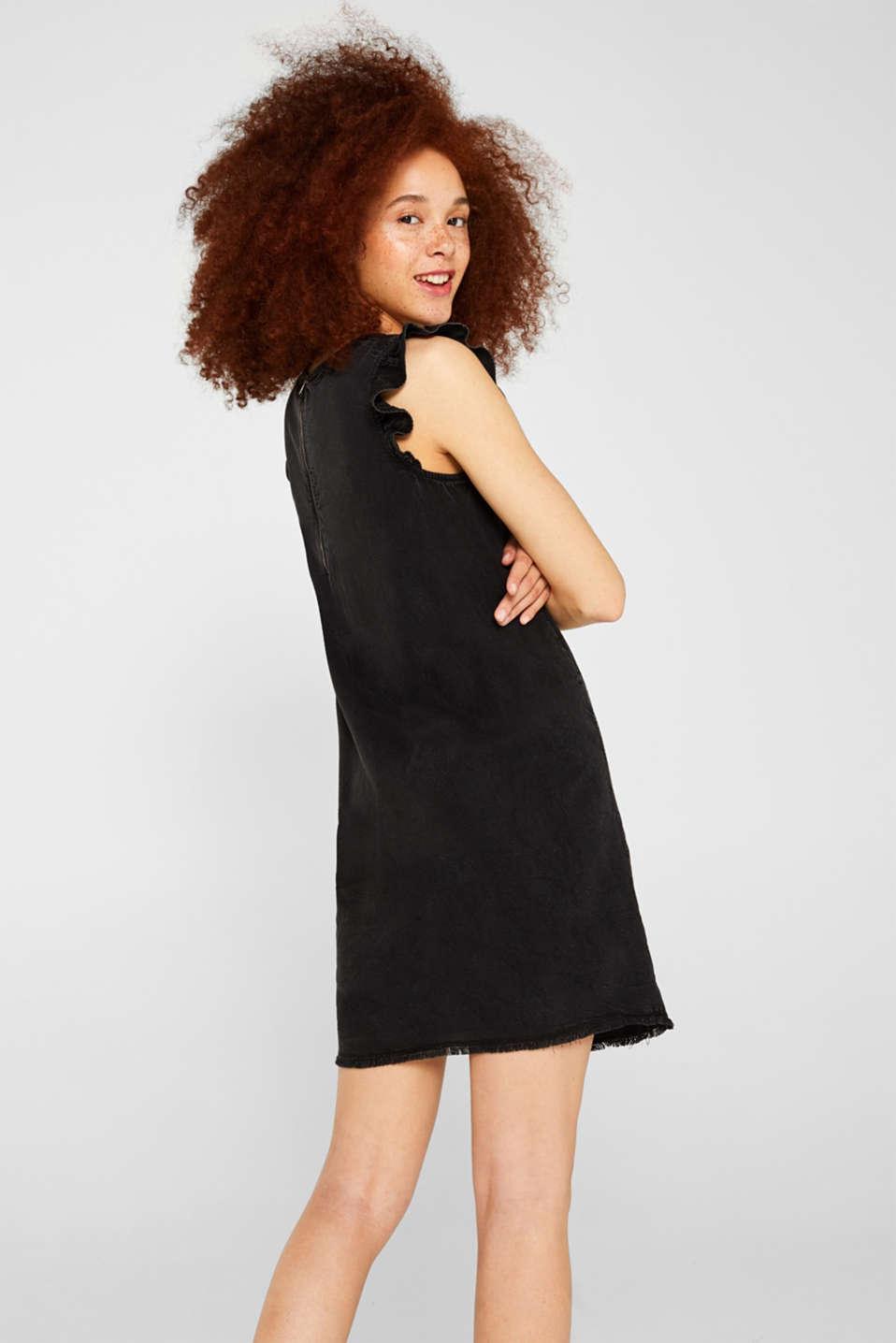 Dresses denim, BLACK DARK WASH, detail image number 2