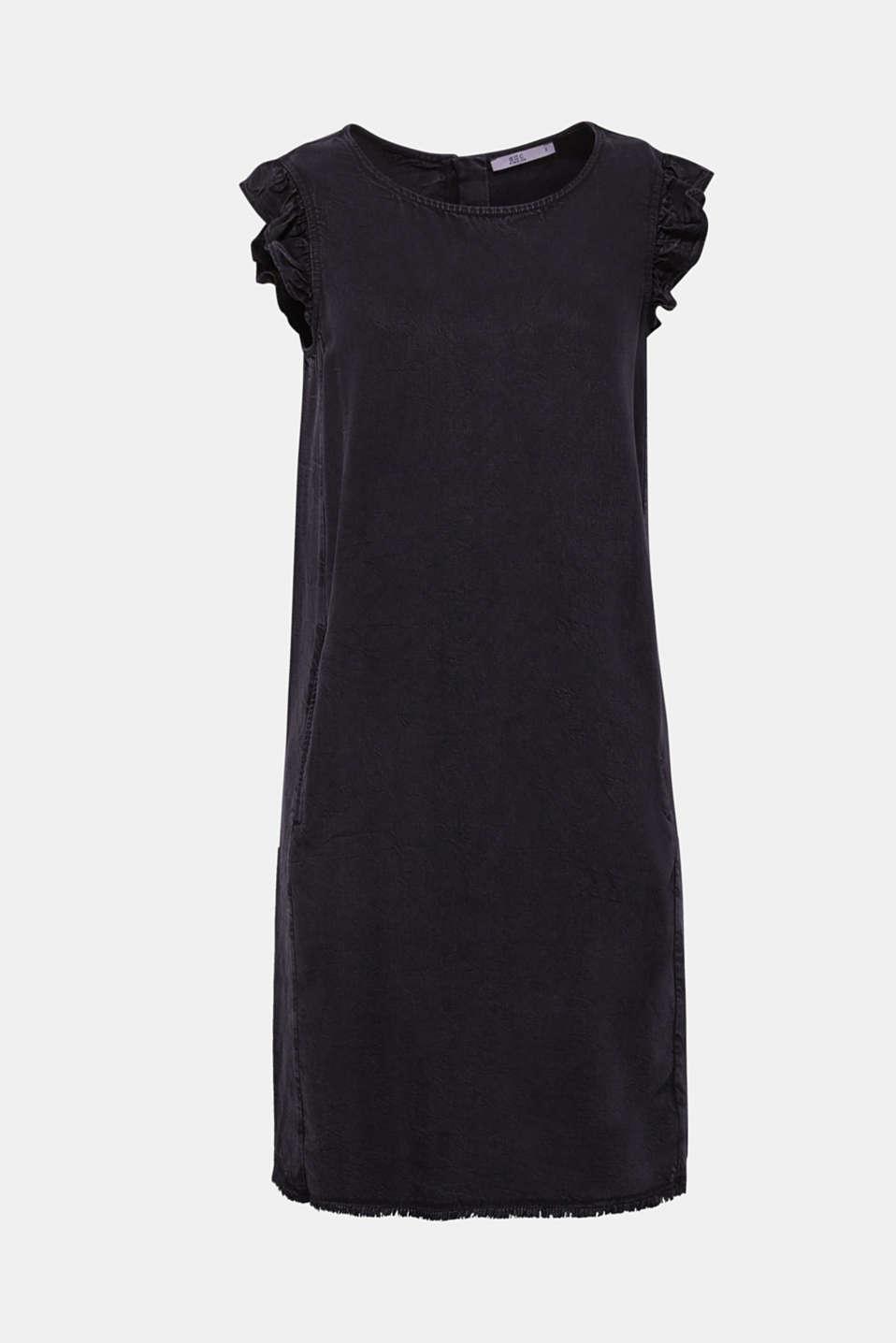 Dresses denim, BLACK DARK WASH, detail image number 8