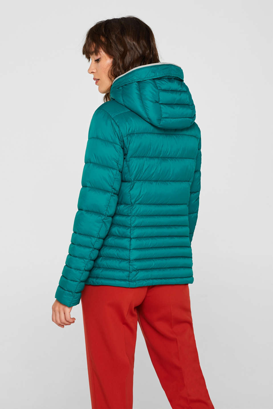 Quilted jacket with 3M™ Thinsulate™ filling, EMERALD GREEN, detail image number 3