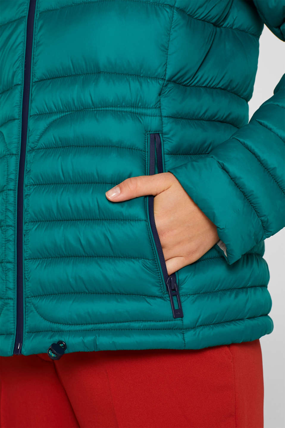 Quilted jacket with 3M™ Thinsulate™ filling, EMERALD GREEN, detail image number 2