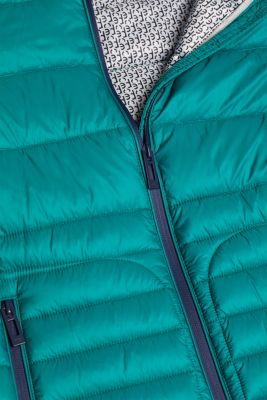 Quilted jacket with 3M™ Thinsulate™ filling, EMERALD GREEN, detail