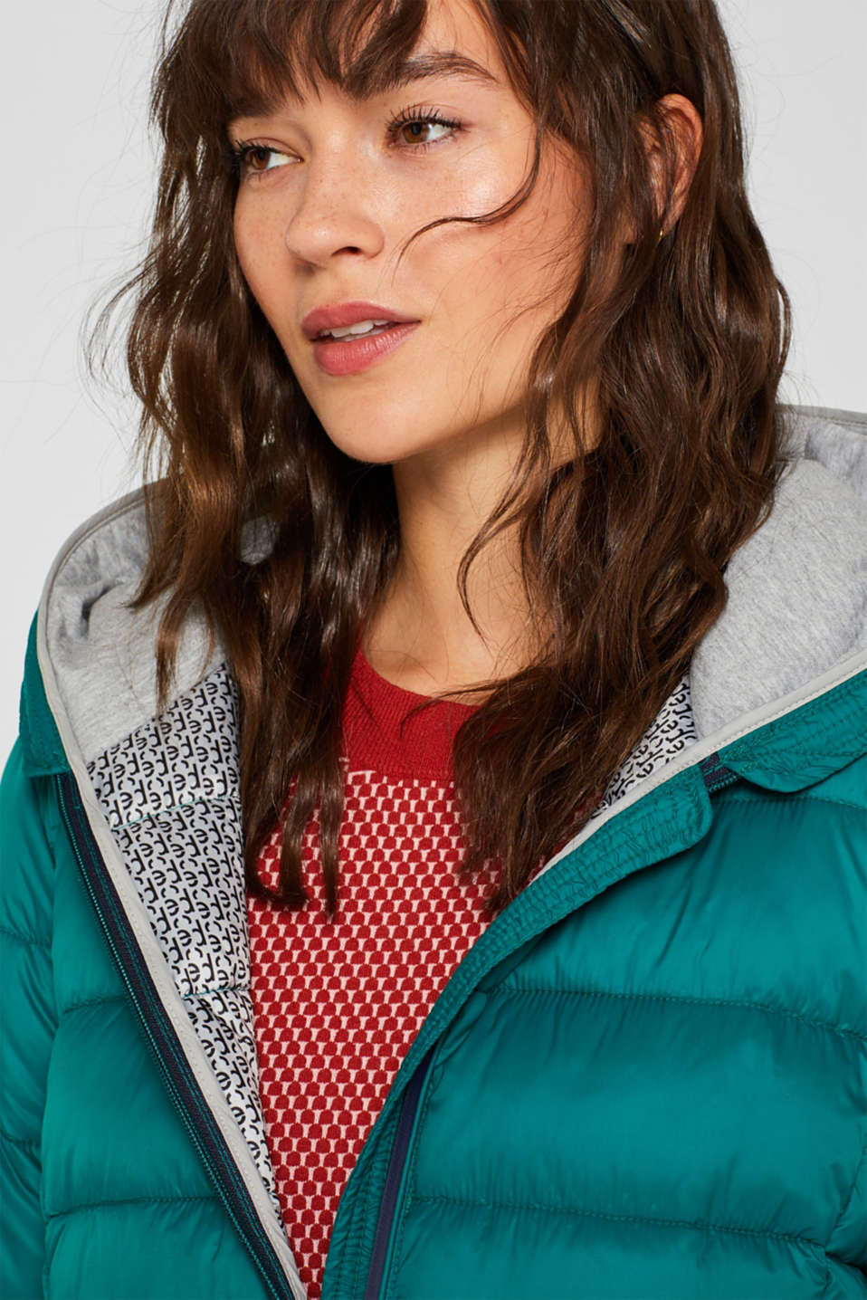 Quilted jacket with 3M™ Thinsulate™ filling, EMERALD GREEN, detail image number 7