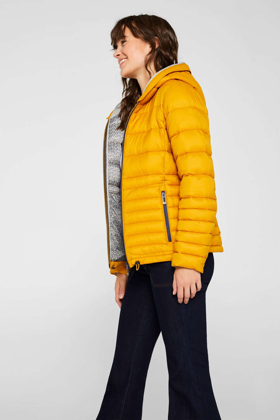 Jackets outdoor woven, SUNFLOWER YELLOW, detail image number 5