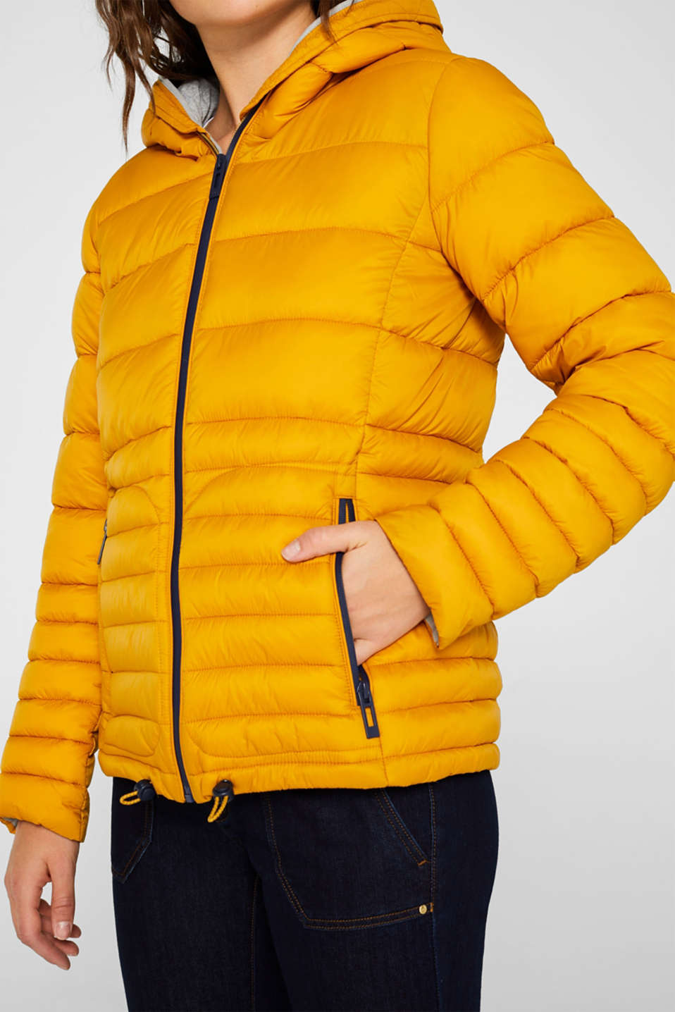 Jackets outdoor woven, SUNFLOWER YELLOW, detail image number 2