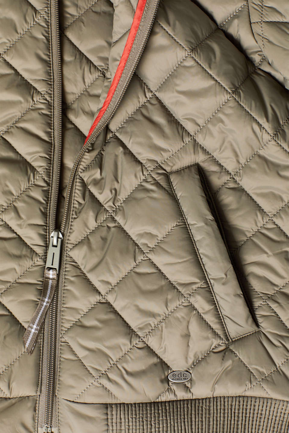 Jackets outdoor woven, LIGHT KHAKI, detail image number 3