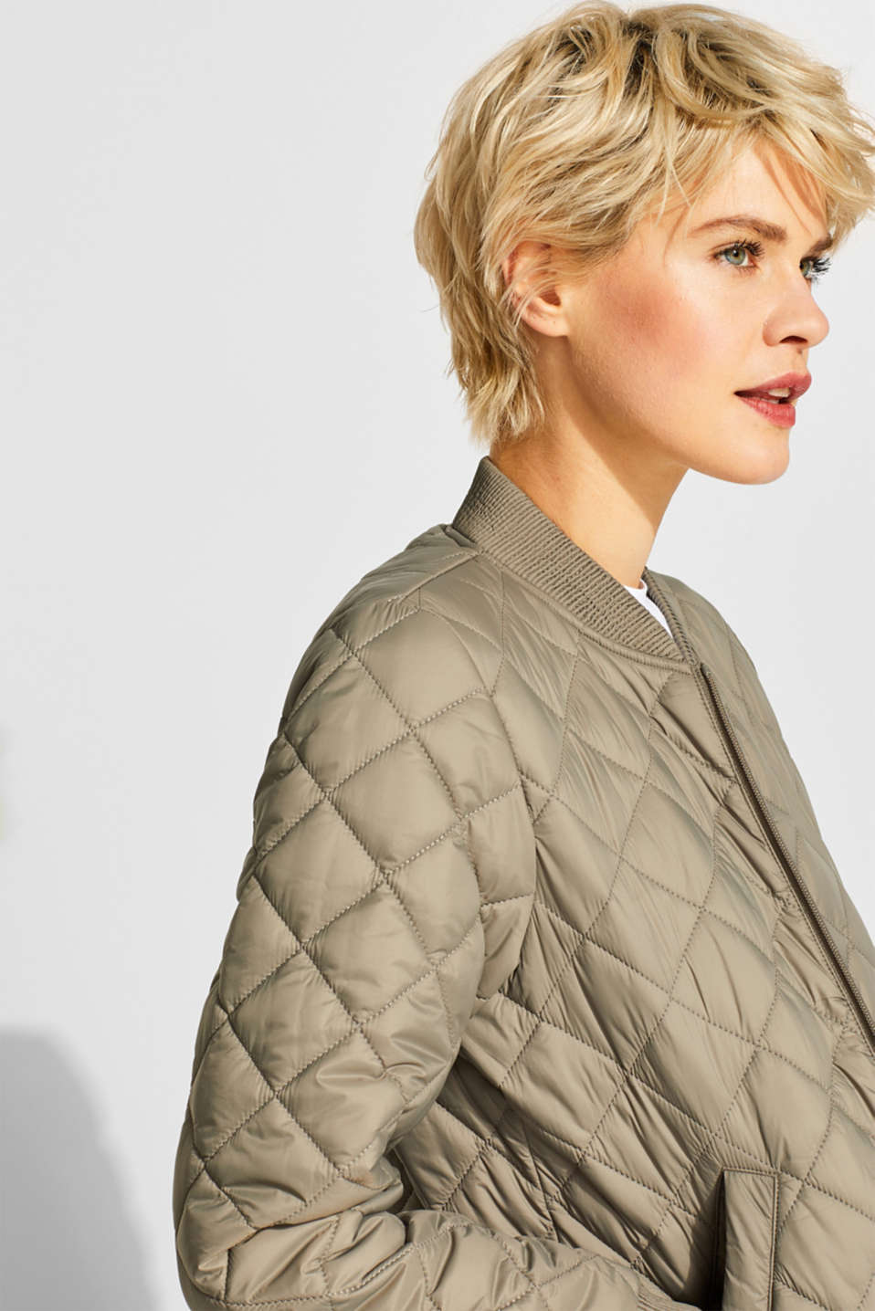 Jackets outdoor woven, LIGHT KHAKI, detail image number 6