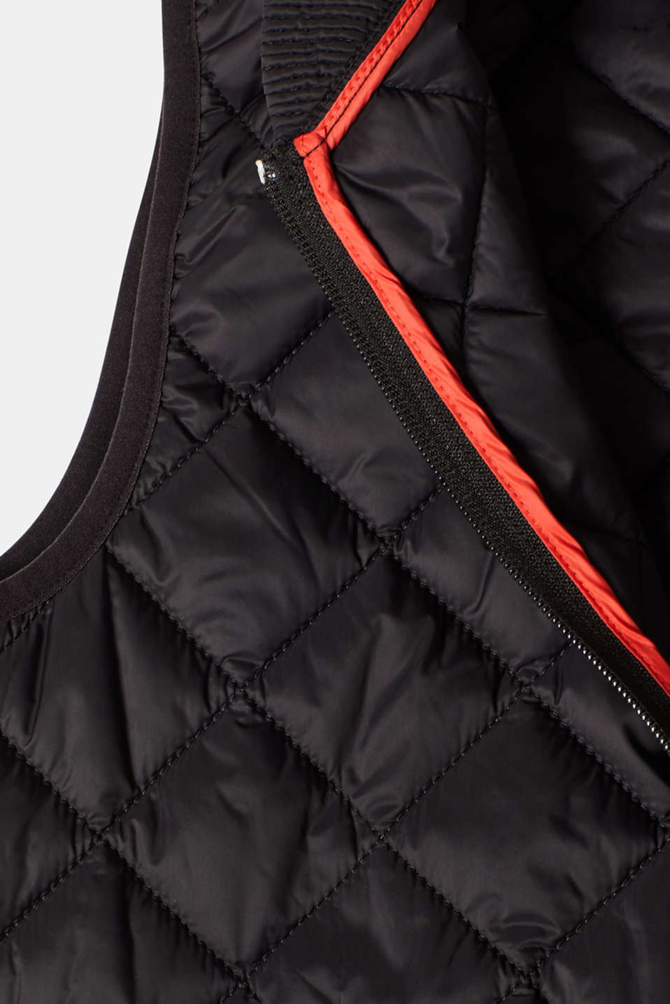 Vests outdoor woven, BLACK, detail image number 4