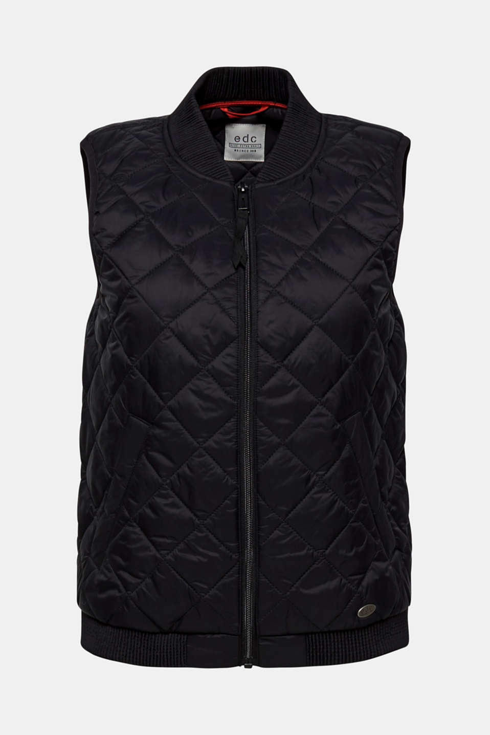 Vests outdoor woven, BLACK, detail image number 9