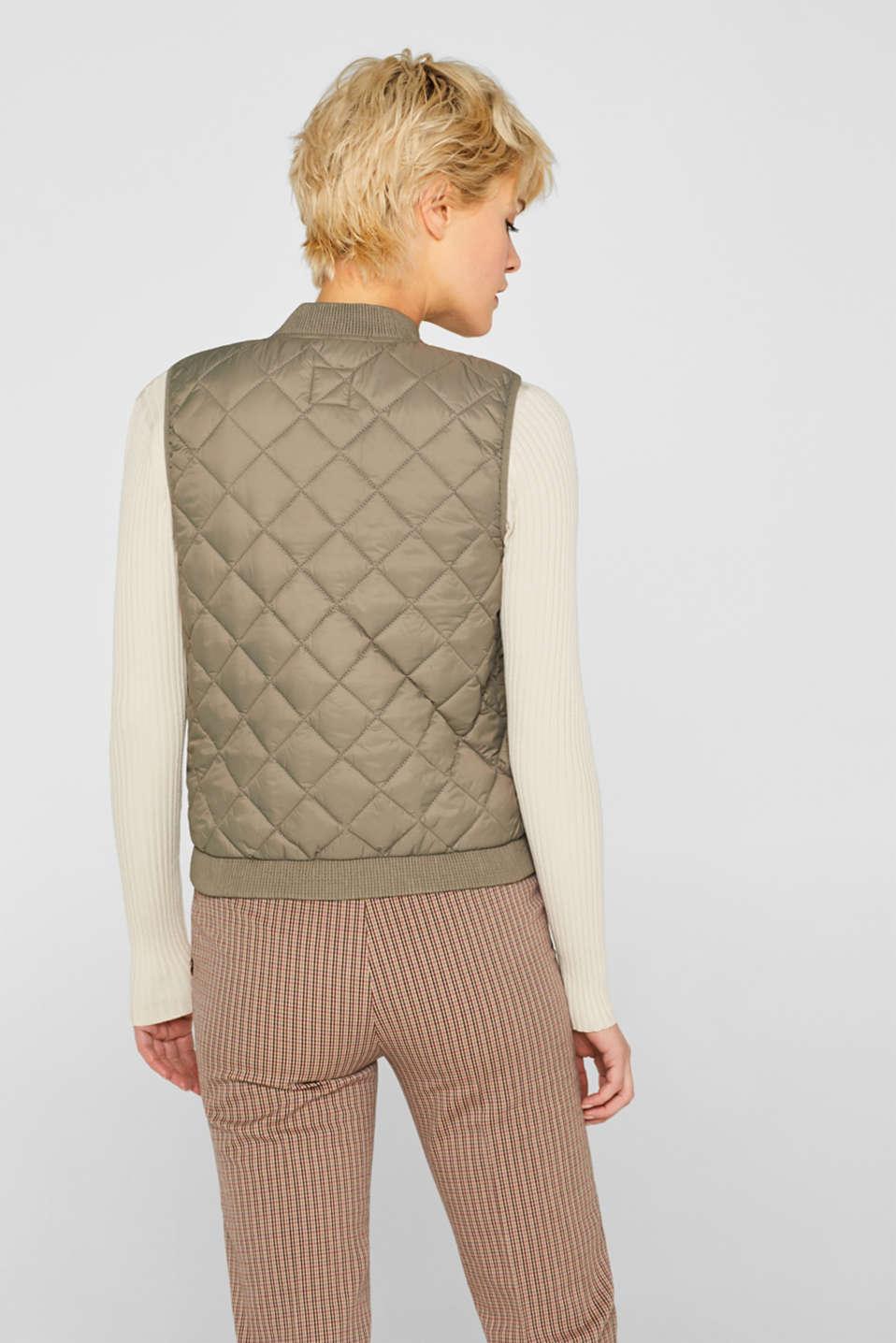 Vests outdoor woven, LIGHT KHAKI, detail image number 3