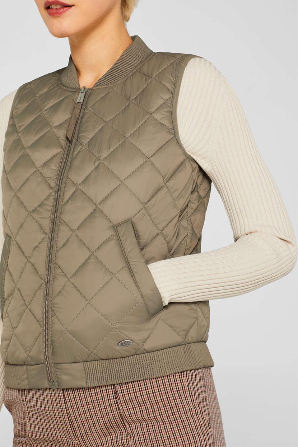 Vests outdoor woven, LIGHT KHAKI, detail image number 2