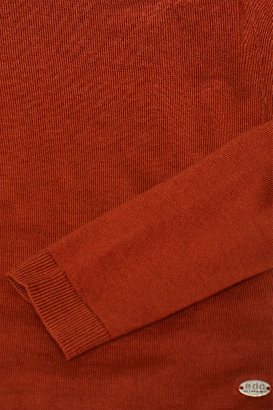 Sweaters, RUST BROWN 5, detail image number 4