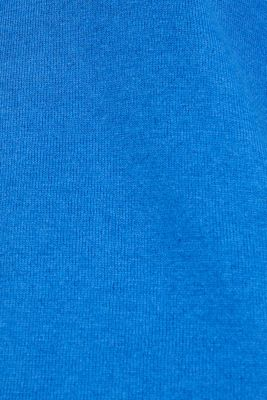 Jumper, organic cotton, BRIGHT BLUE, detail