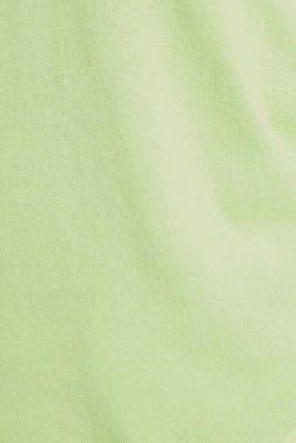 Jumper, organic cotton, LIME YELLOW, detail