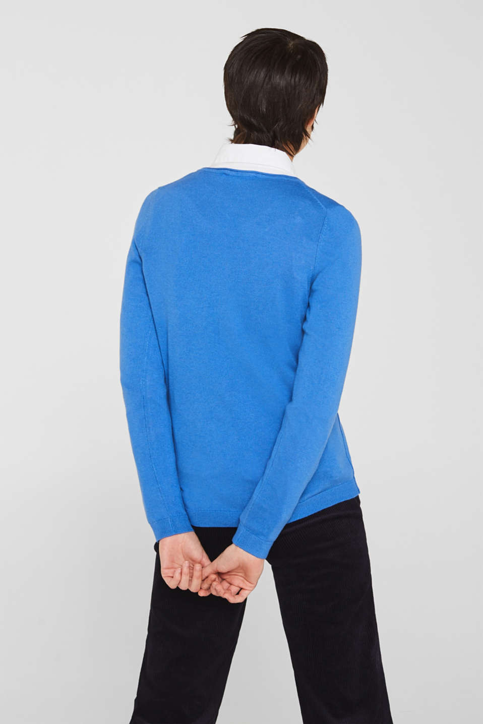 Sweaters, BRIGHT BLUE, detail image number 3