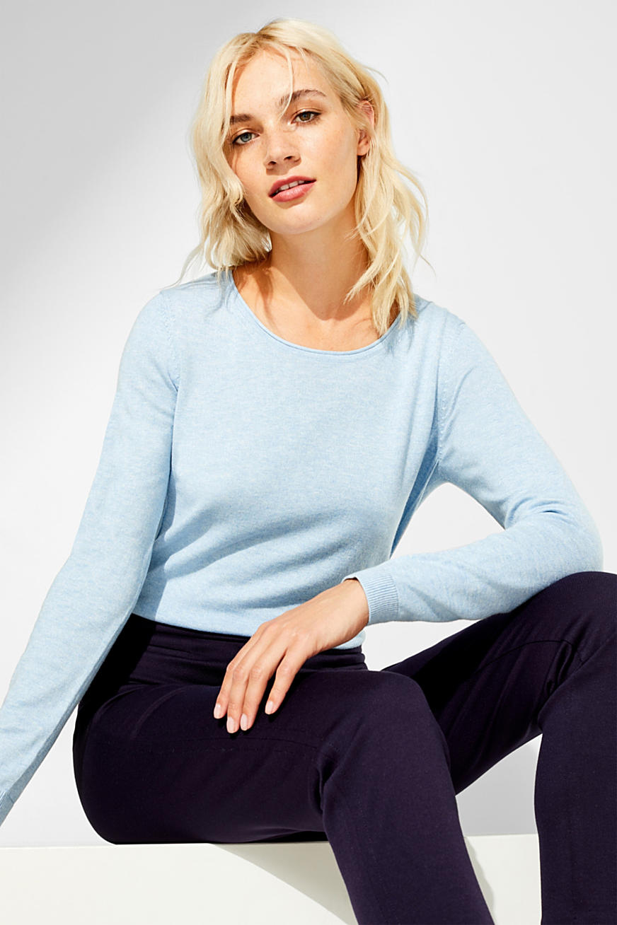 Melange basic jumper