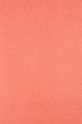 Melange basic jumper, CORAL, detail