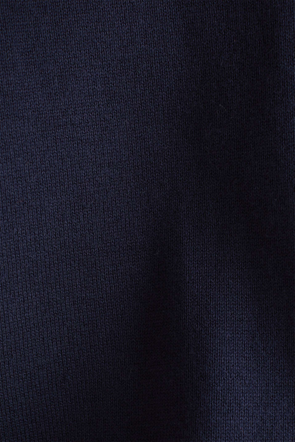 Knitted cardigan with organic cotton, NAVY, detail image number 4