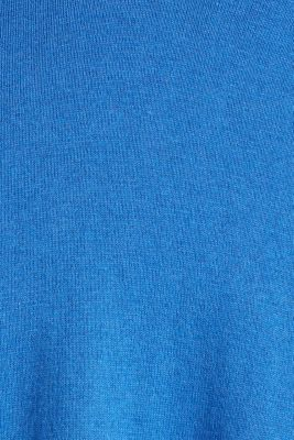 Jumper with inside-out seams, BRIGHT BLUE, detail