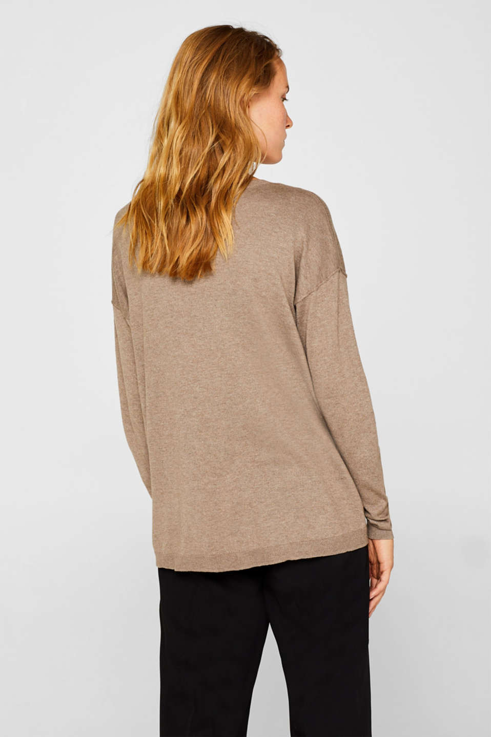 Sweaters, TAUPE 5, detail image number 3