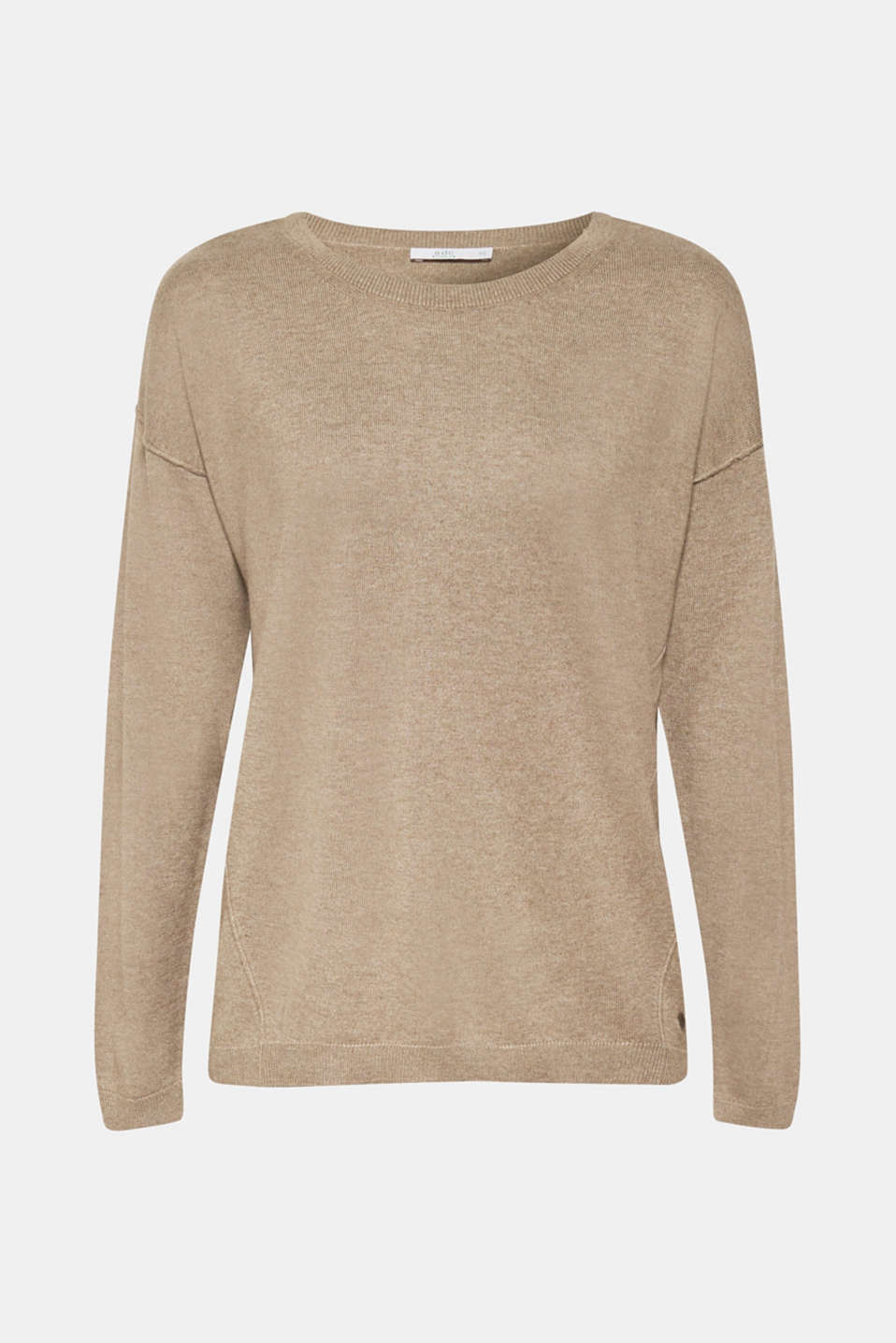 Sweaters, TAUPE 5, detail image number 6