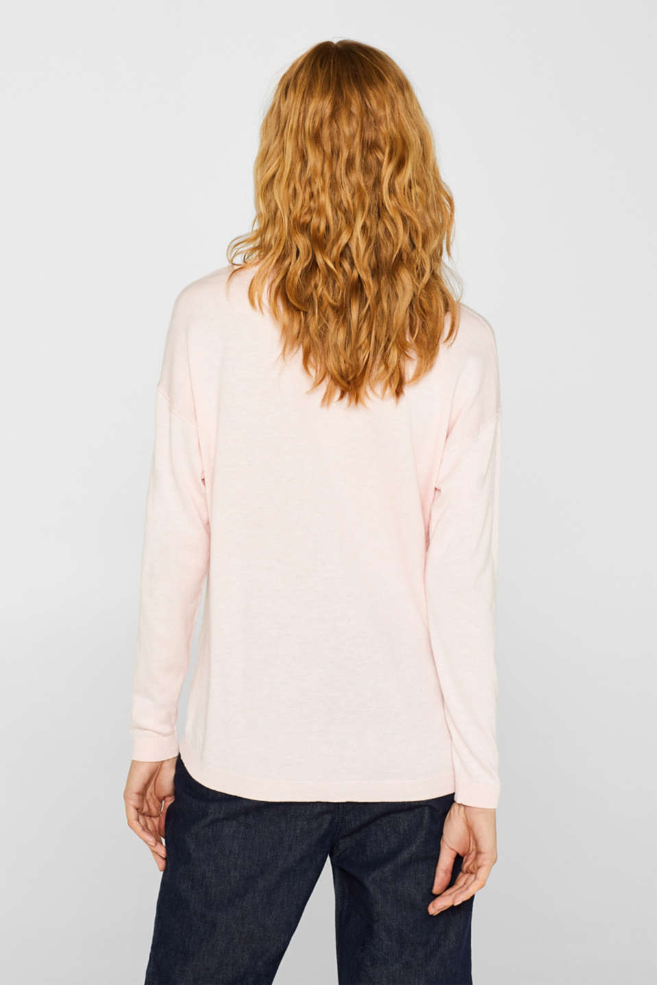 Sweaters, LIGHT PINK, detail image number 3