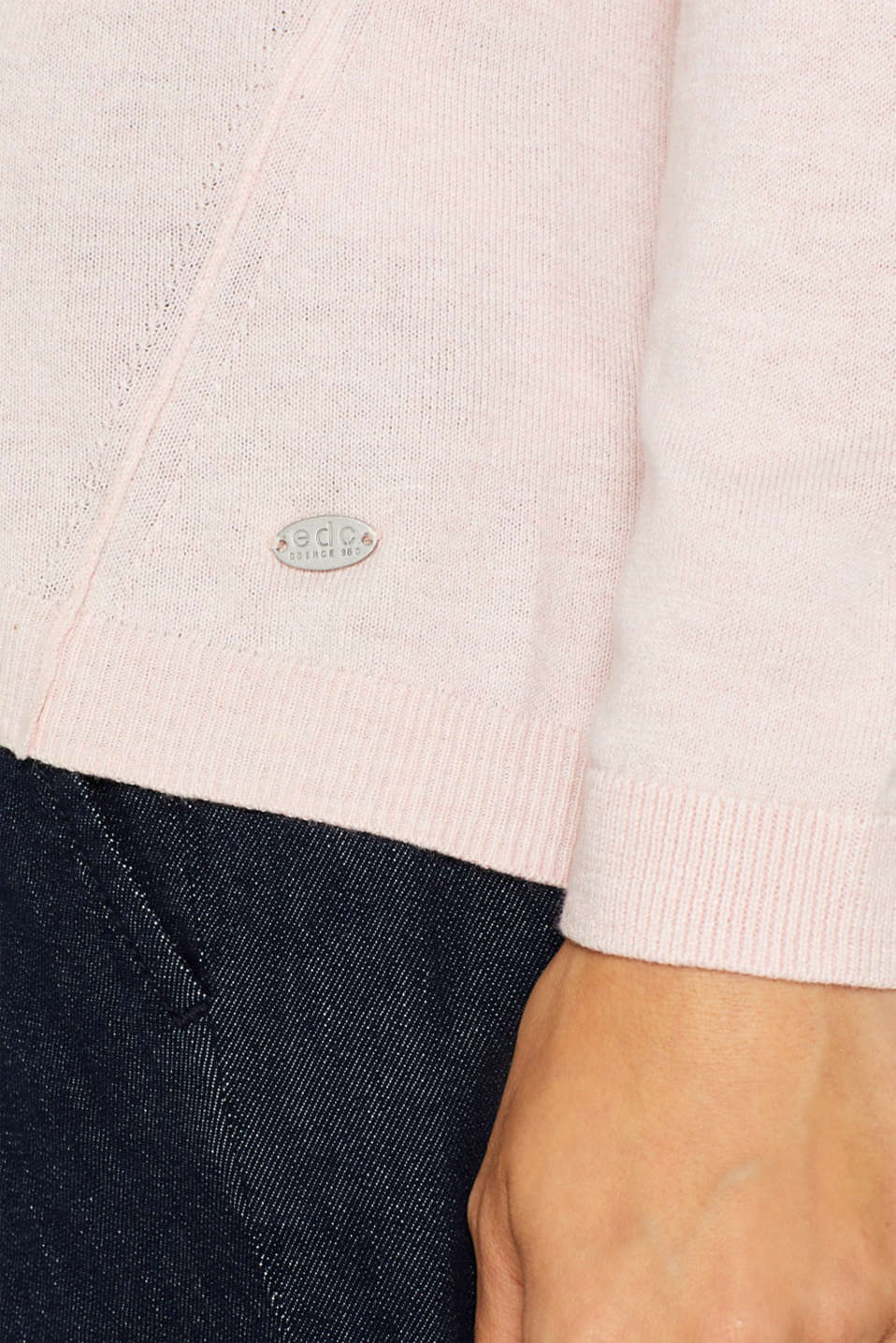 Sweaters, LIGHT PINK, detail image number 2