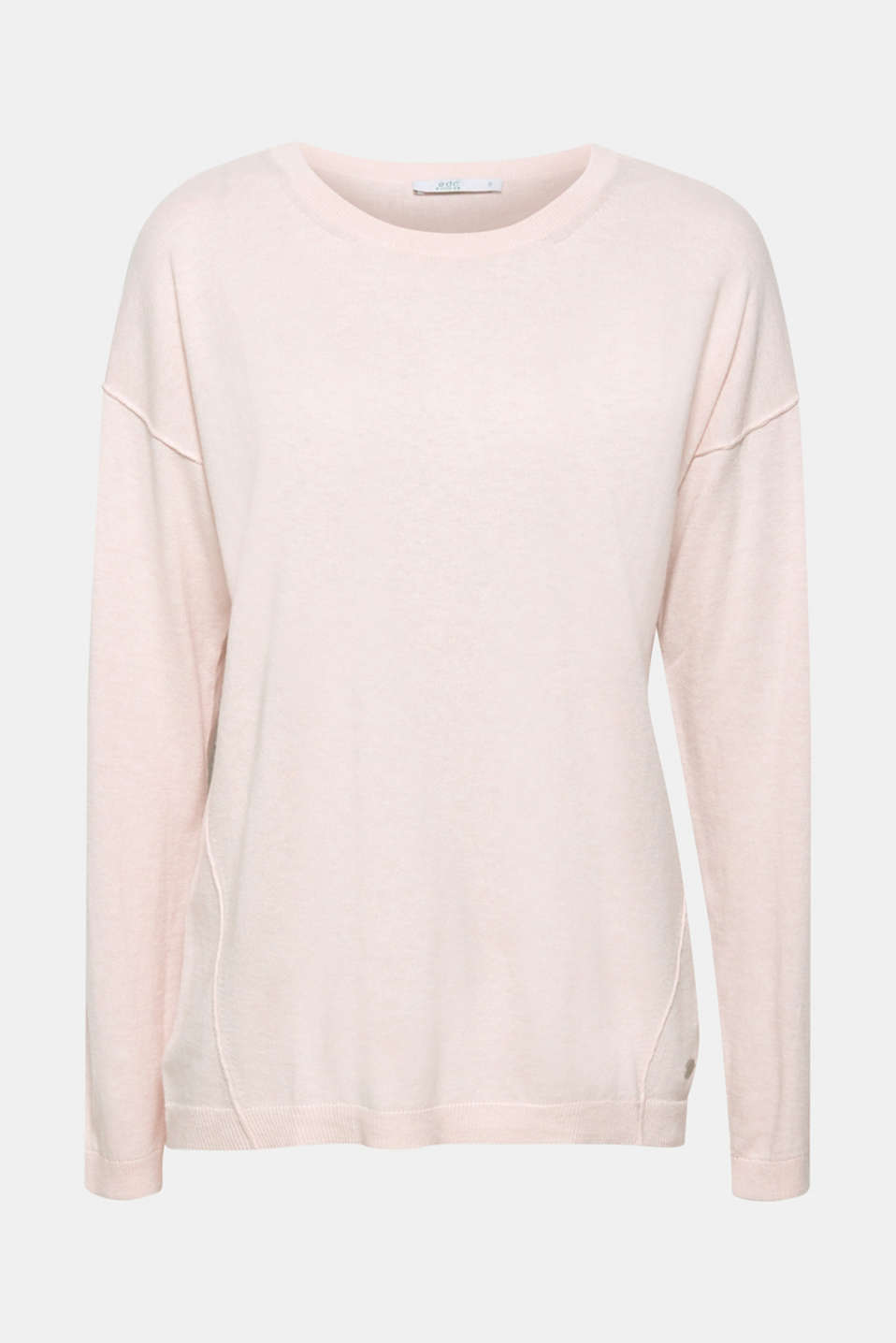 Sweaters, LIGHT PINK, detail image number 7