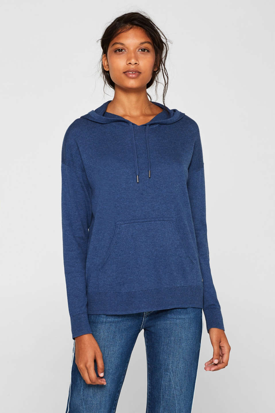 Sweaters, DARK BLUE 5, detail image number 0