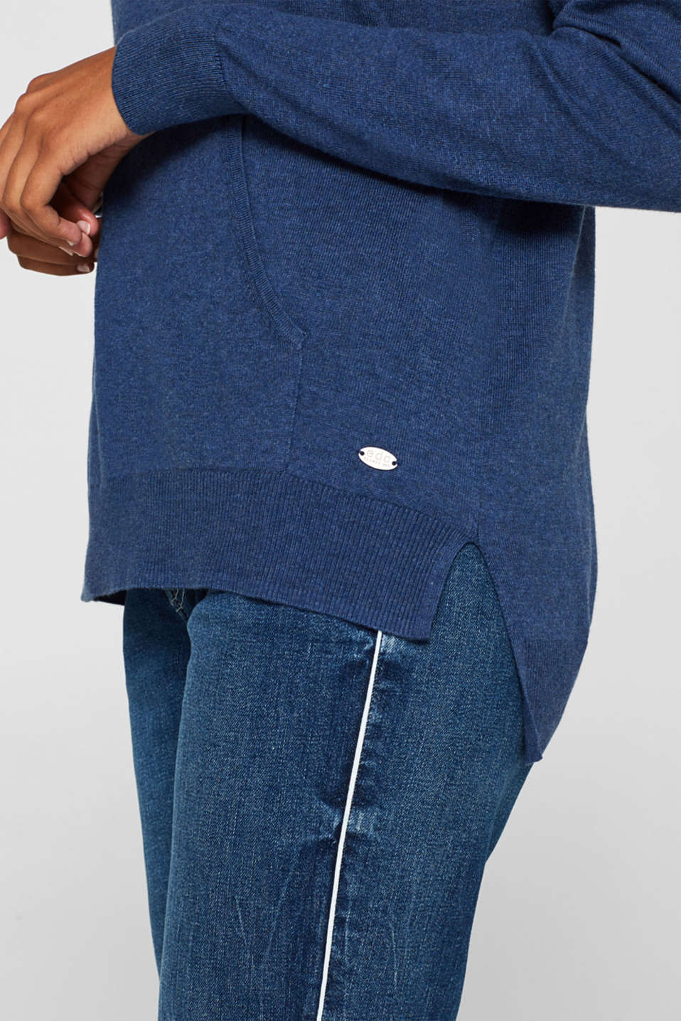 Sweaters, DARK BLUE 5, detail image number 2