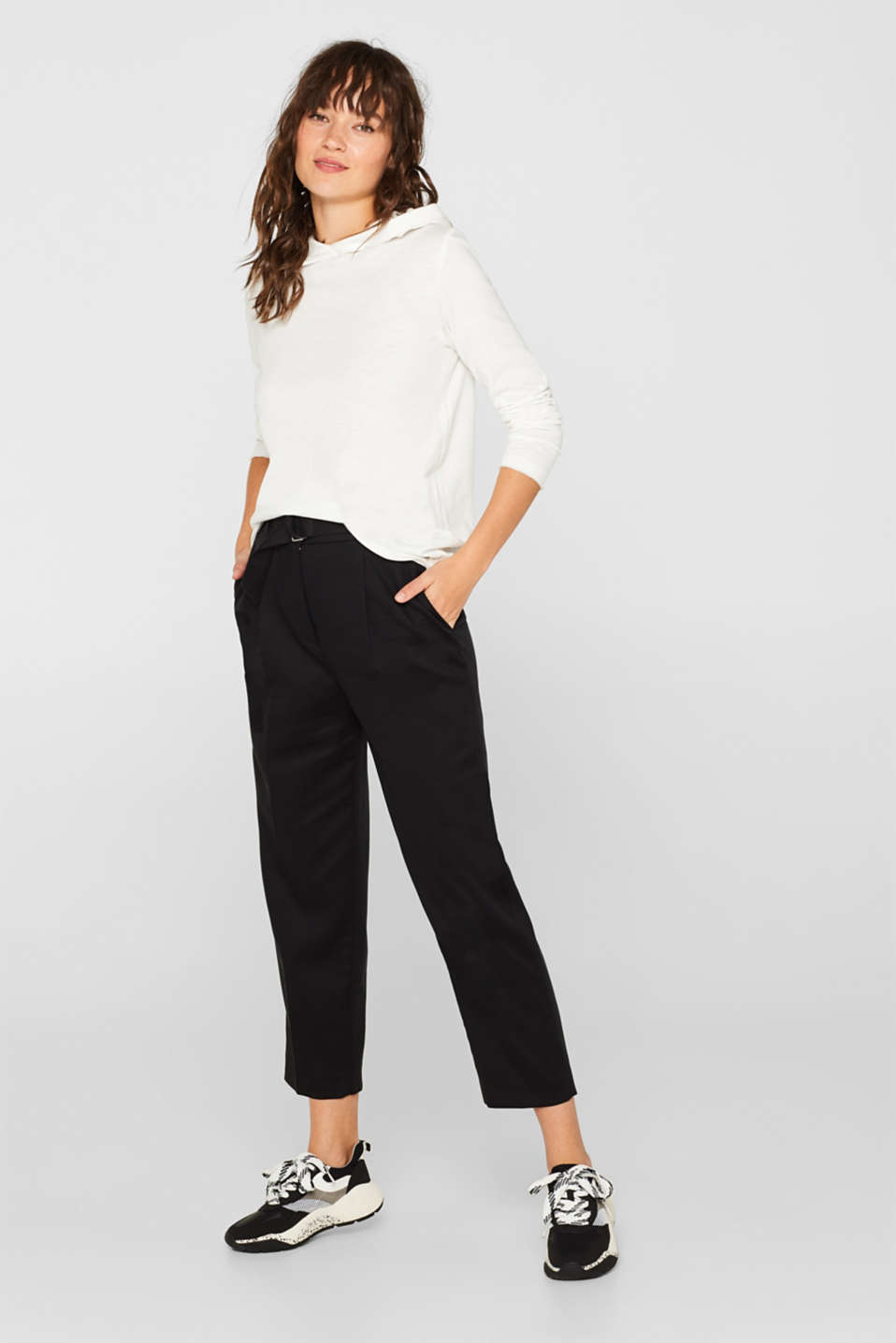 Sweatshirts, OFF WHITE, detail image number 1