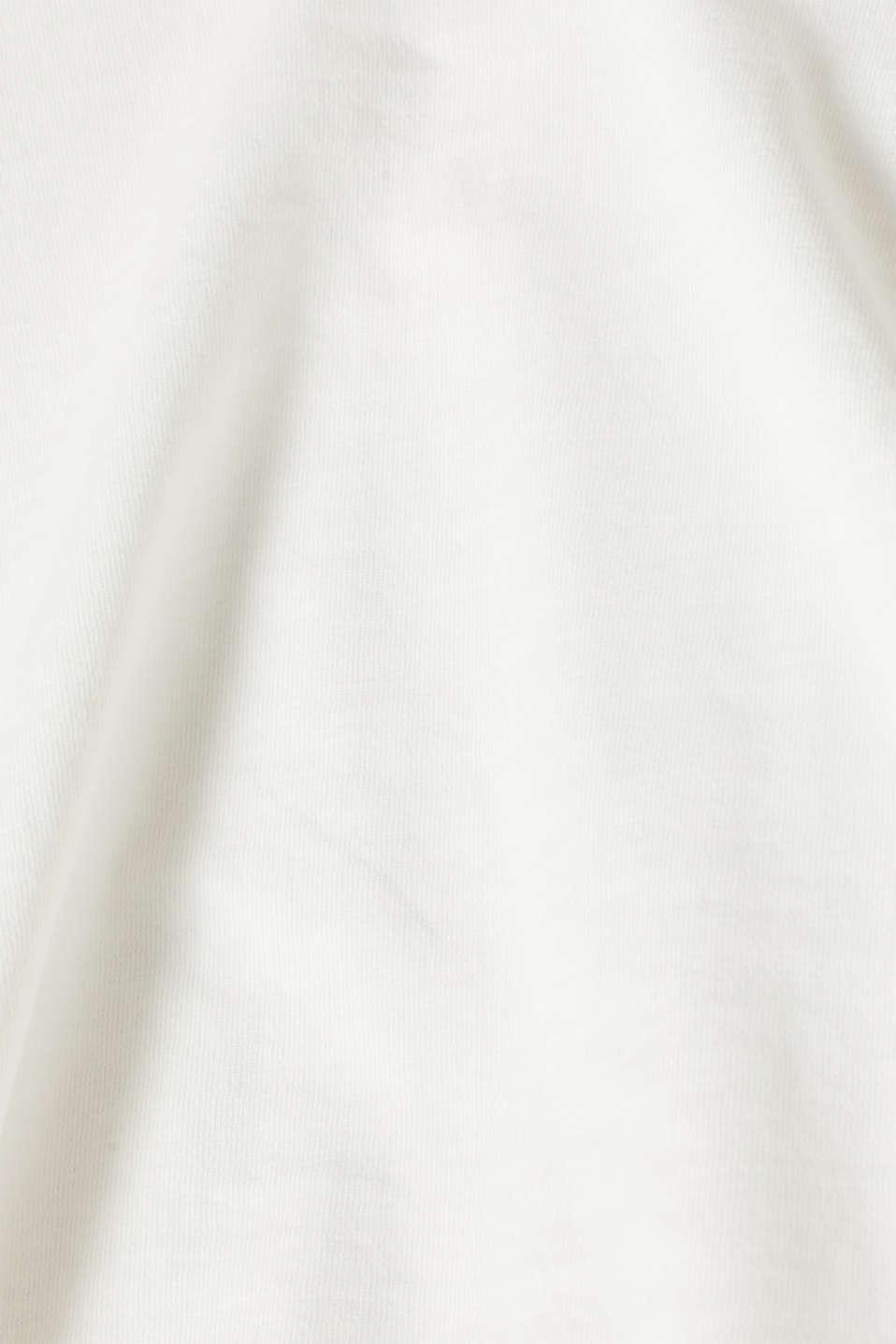 Sweatshirts, OFF WHITE, detail image number 4