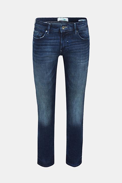 Vintage-look stretch jeans