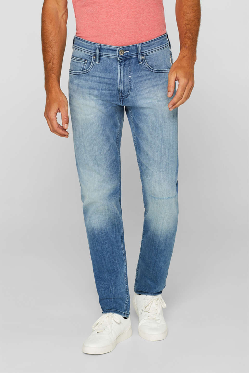 edc - Vintage-look stretch jeans