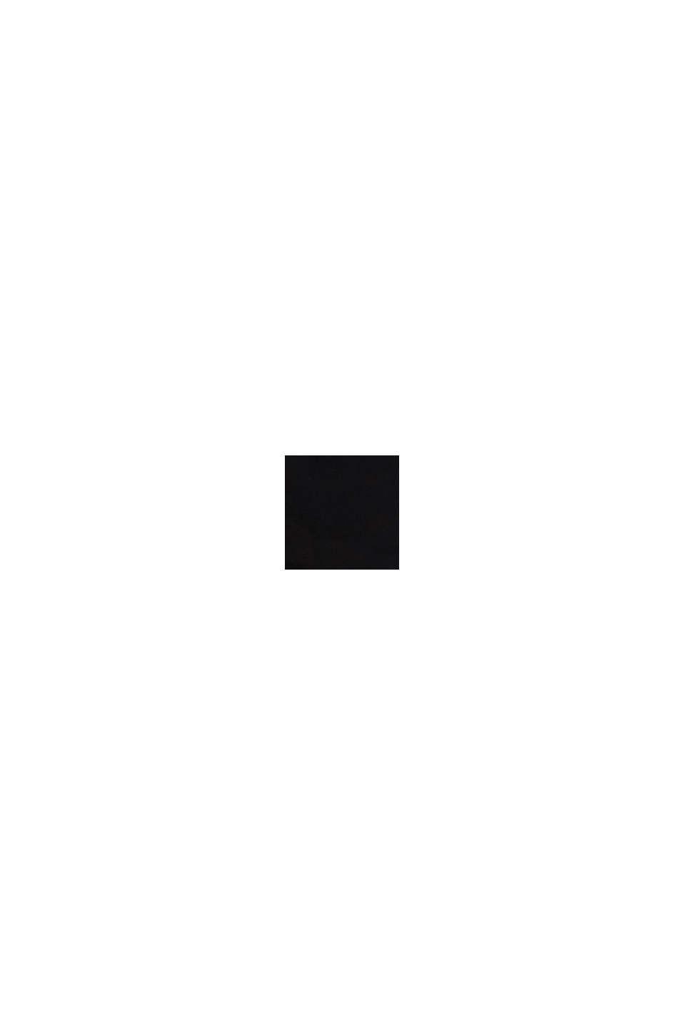 Chino van katoen-stretch, BLACK, swatch