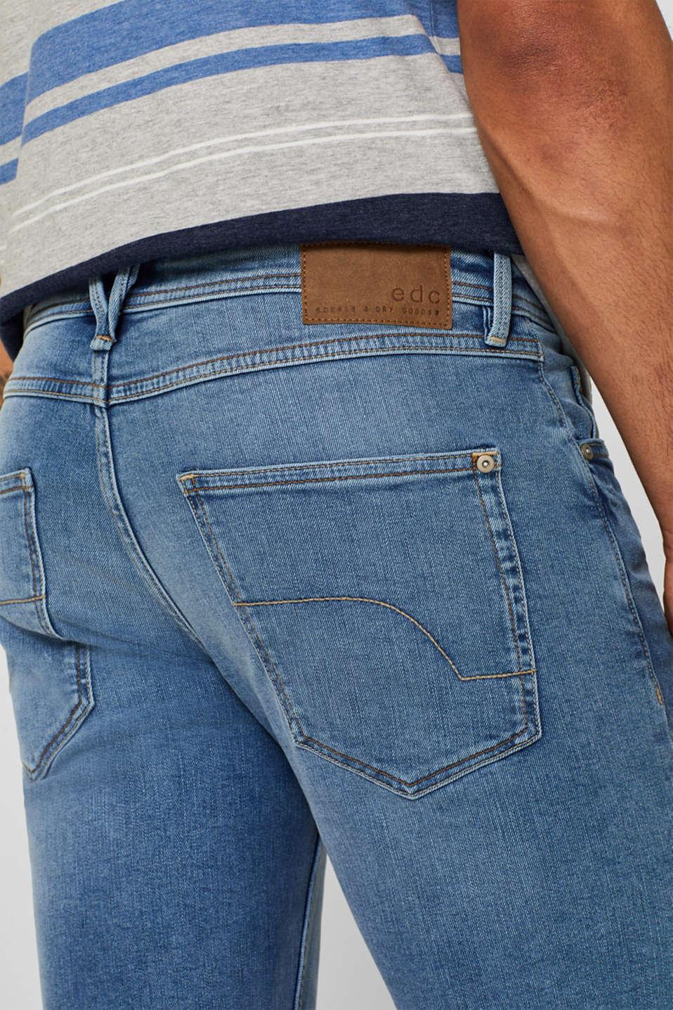 Shorts denim, BLUE LIGHT WASH, detail image number 2