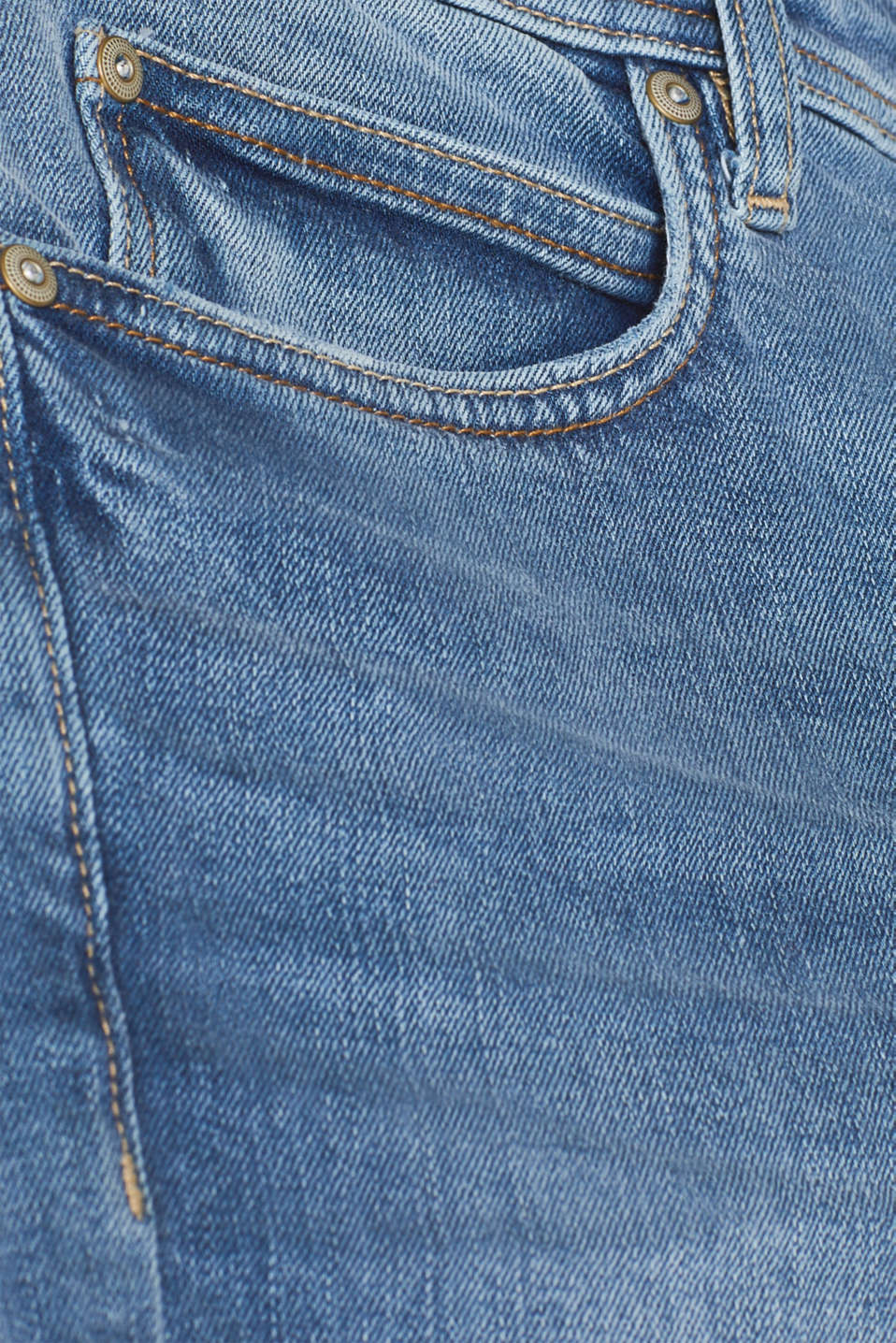 Shorts denim, BLUE LIGHT WASH, detail image number 5