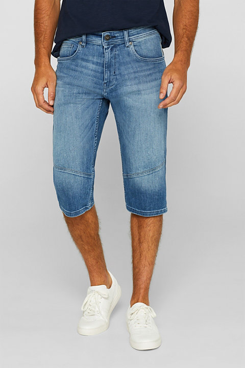Super stretch jeans in a 3/4-length