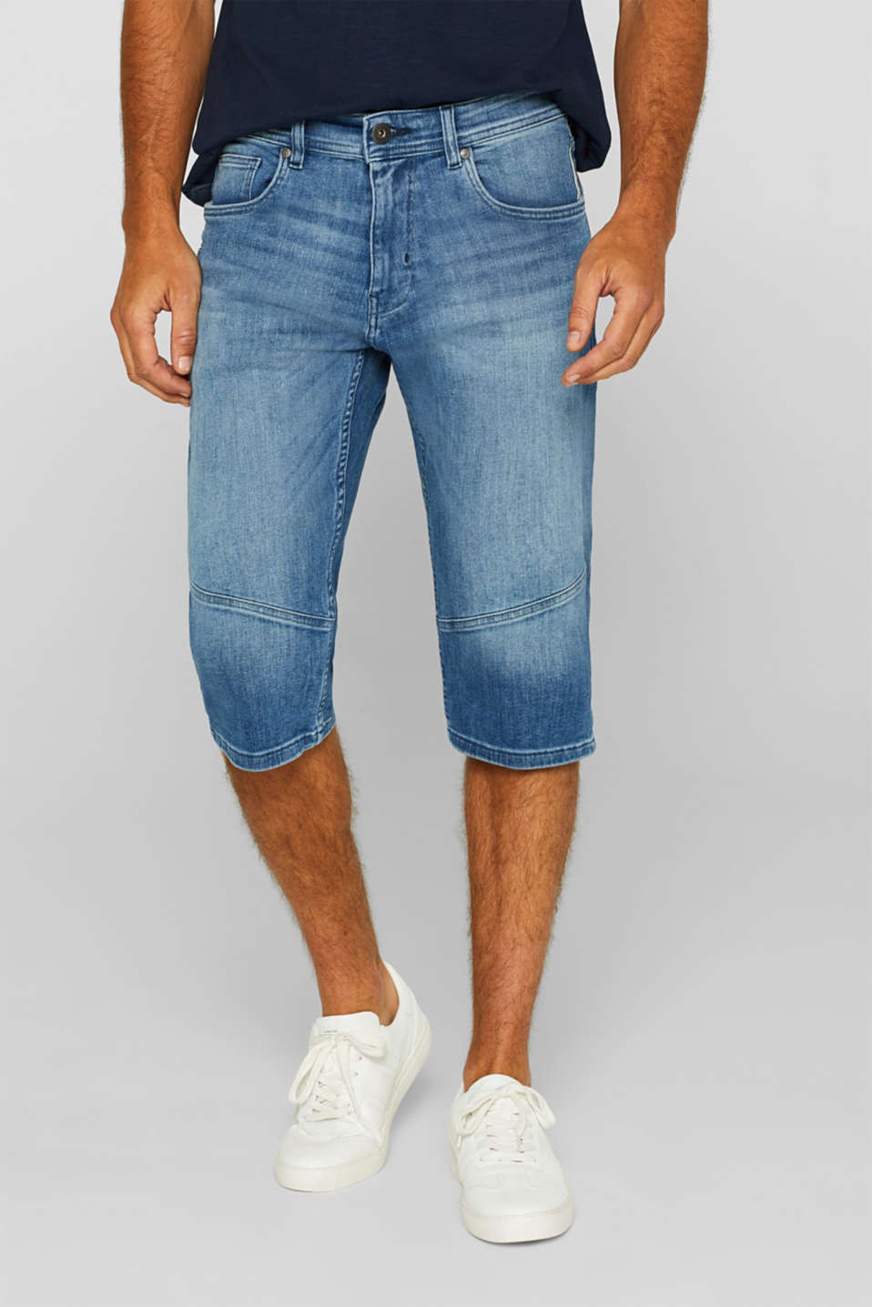 edc - Super stretch jeans in a 3/4-length