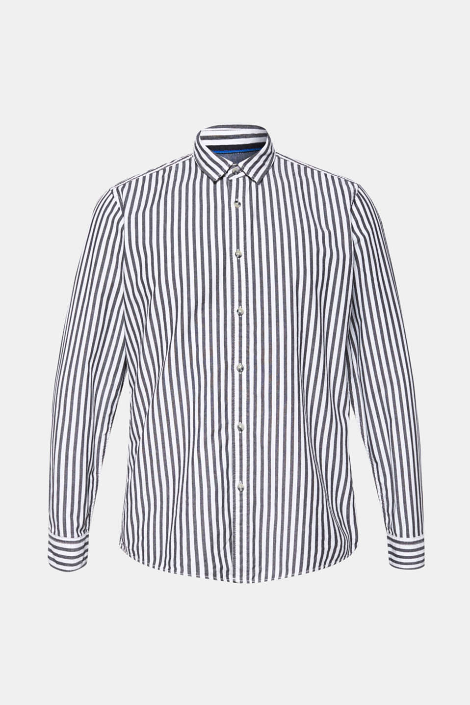 Shirts woven Slim fit, BLACK, detail image number 7