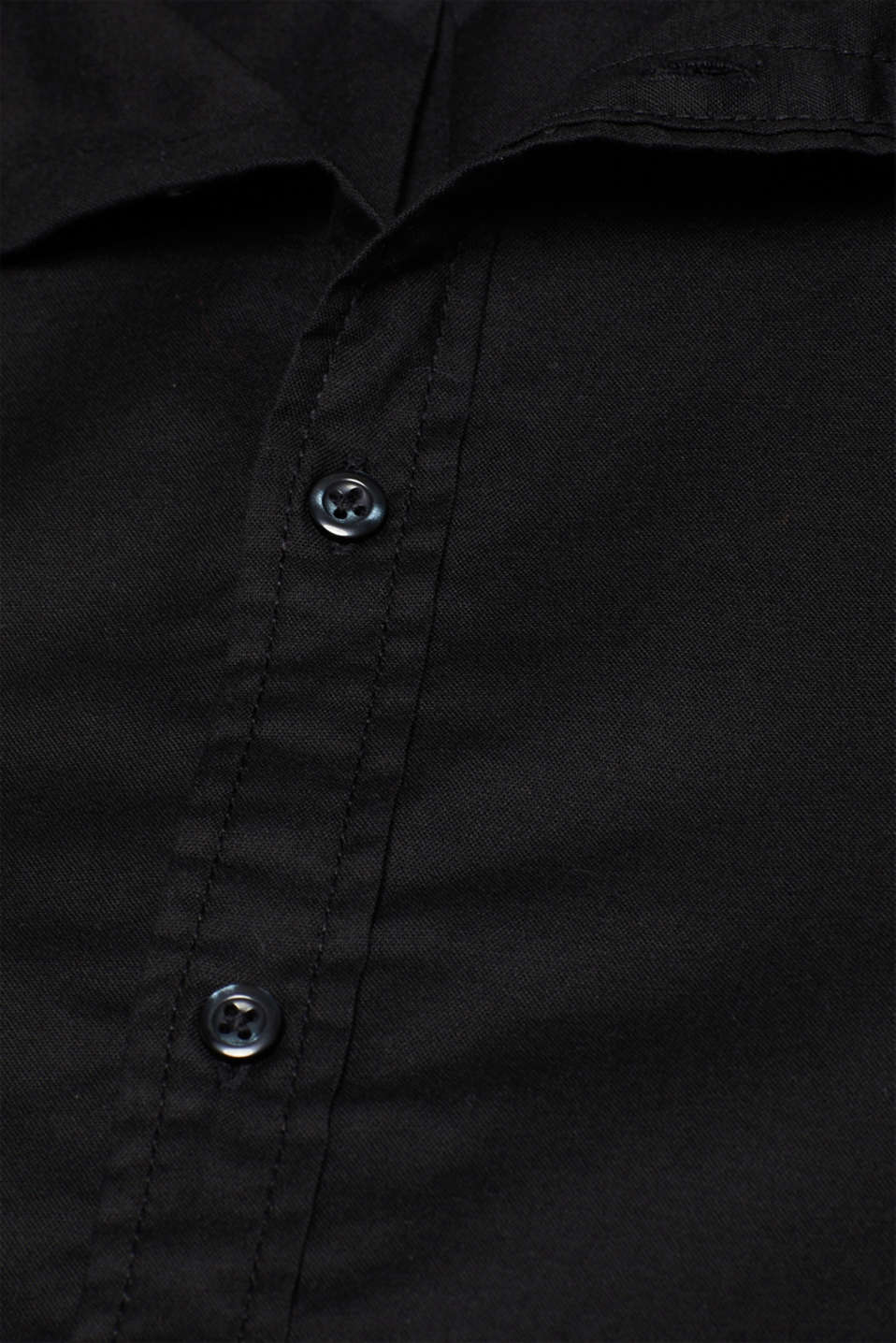 Shirts woven Slim fit, BLACK, detail image number 4