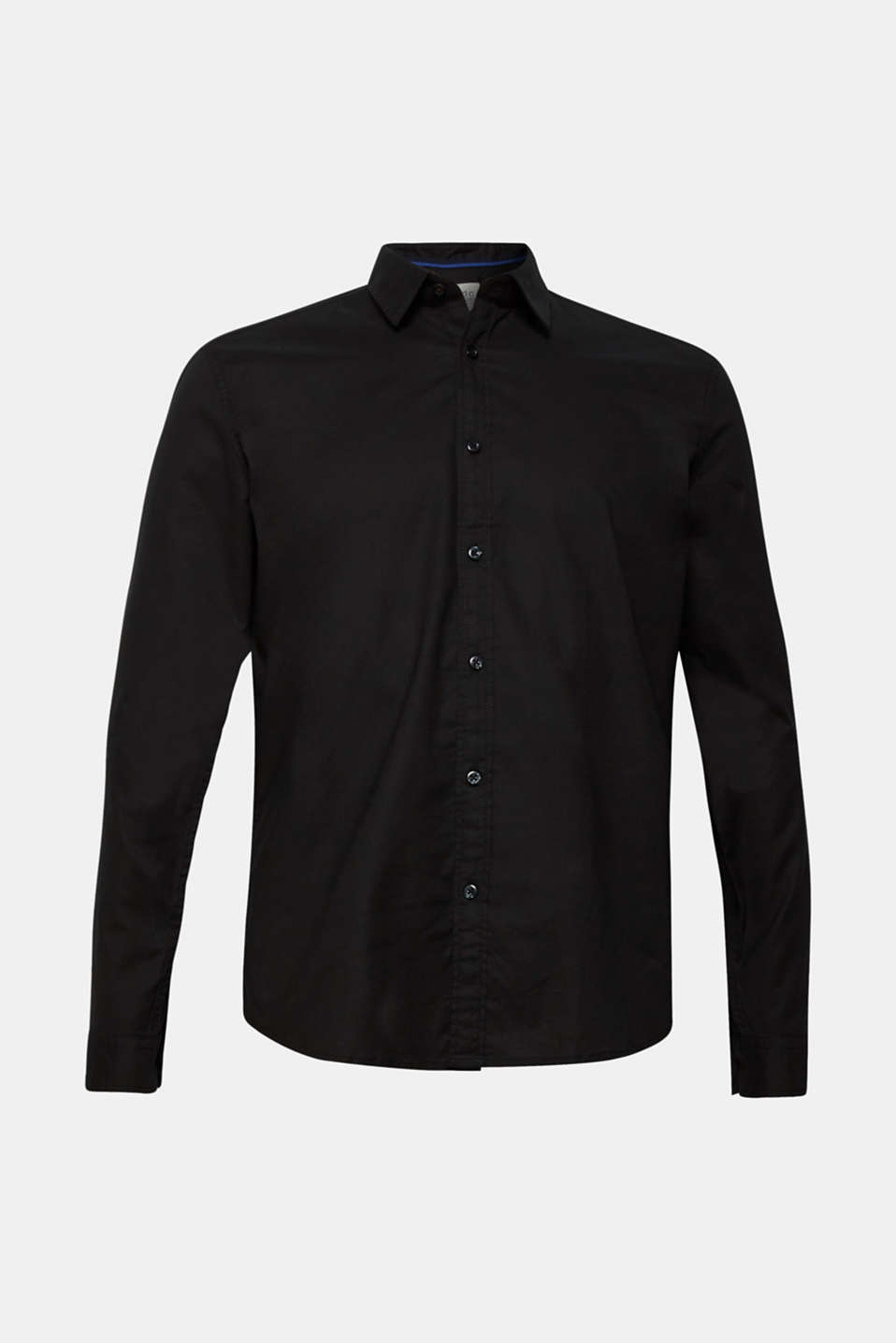 Shirts woven Slim fit, BLACK, detail image number 5