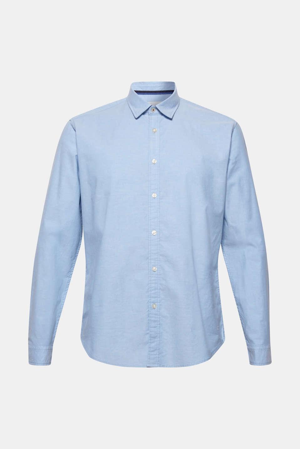 Shirts woven Slim fit, LIGHT BLUE, detail image number 6